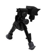 "Versa-Pod Model 50 Super-Short Prone 5-7"" Bipod - Rubber Feet"
