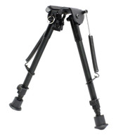 max-hunter 9-12 inch swivel bipod spring loaded notched legs