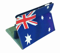 aussie flag iPad 3 4 case australia leather