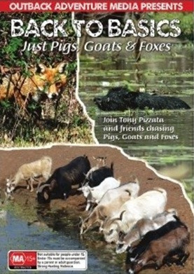 outback adventure media back basic pigs goats foxes hunting dvd movie shooting