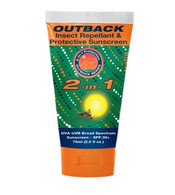 outback series sunscreen SP30+ insect repellant cream