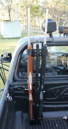Vehicle Double Gun Rack