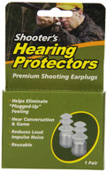 Shooter's Hearing Protectors Ear Plugs