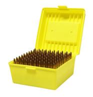 Max-Comp Large Plastic Rifle Ammo Box - 100 Round - .308, .30-06, .22-250 etc