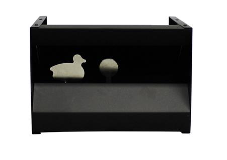 air rifle knockdown target pellet trap duck