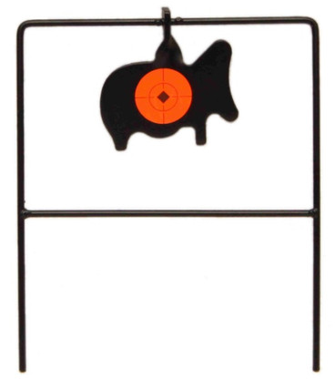 spinner rimfire target 22 resetting ram shooting practice fun