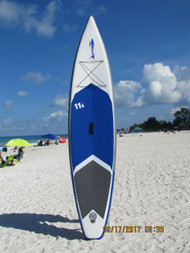 "Wakooda 11'6"" Surfing V-hull Inflatable SUP"