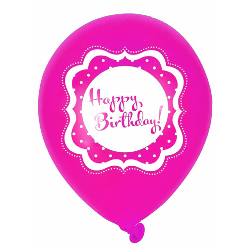 Pink Happy 18th Birthday Balloon: Perfectly Pink Balloons (12)