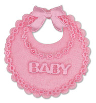 Baby Bib Mini Pink (5cm)