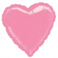 Pastel Pink Heart Foil Balloon
