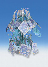 Baby Boy Gleam & Burst Centerpiece