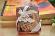 Owl Design Metal Bookmark (1)