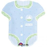 Baby Vest Boy Supershape Foil Balloon