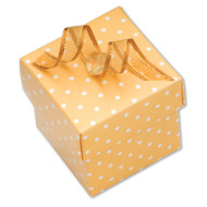 Yellow Polka Dot Box (DIY)