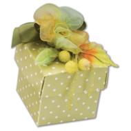 Green Polka Dot Box (DIY)