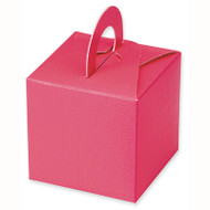Hot Pink Square Box With Handles (DIY)