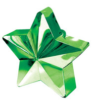 Lime Green Star Balloon Weight (1)