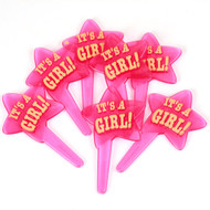 It's a Girl Star Food Pick (6)