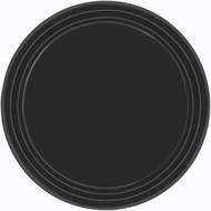 Black Plain Plates (8)