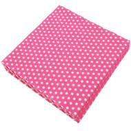 Hot Pink Polka Dot Napkins (20)