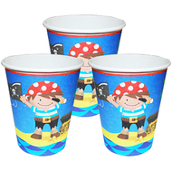 Boy Pirate Party Cups (8)