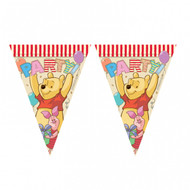 Winnie The Pooh Alphabet Triangle Flag Banner (2m x 30cm)