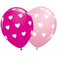 Big Hearts Latex Balloons (5)