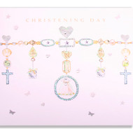 Christening Jewels Greeting card