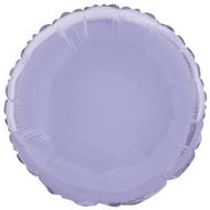 Lavender Round Foil Balloon
