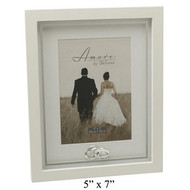 Amore MDF Frame with Crystal Rings/Plain 5
