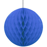 Navy Blue Honeycomb Ball Paper Decoration (1)