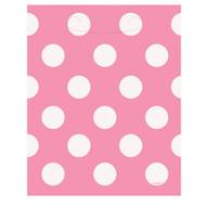Pink Big Dots Loot Bags (8)