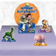 Toy story balloon centerpiece