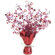 Red Heart Foil Centrepiece