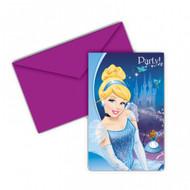 Cinderella Invitations & Envelopes (6)