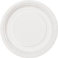 White Paper Plates (8)