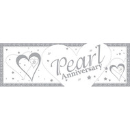 Pearl Anniversary Giant Banner