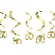 50th swirl Decorations (5)
