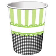 Candy Stripe Footprint Neutral Cups (8)