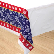 Western Lasso Cowboy Tablecover