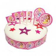 Princess Sparkle Cake Decorating Kit (19 pieces)
