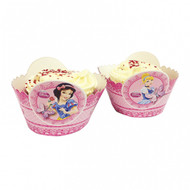 Princess Sparkle Cup Cake Wraps (8)
