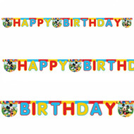 Mickey Mouse Paper Letter Banner (2m)