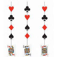 Card Night Party Hanging Cutouts (3)