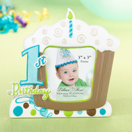"1st Birthday Cupcake Photo Frame (3""x3"")"