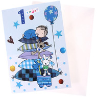 1 Today Boy Birthday Card