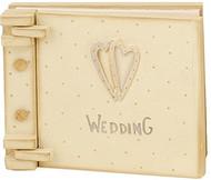 Wooden Wedding Keepsake Book
