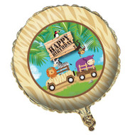 Safari Adventure Foil Balloon