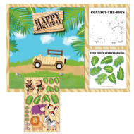 Safari Adventure Activity Placemat (8)