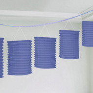 Paper Lantern Garland  Purple (3.65m)